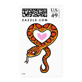 Snake Love Postage