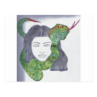 Snake Love Products Postcard