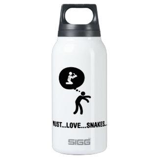 Snake Lover Insulated Water Bottle