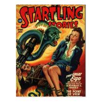 Snake Man Postcard