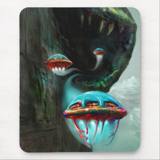 Snake Mountain Mouse Pad