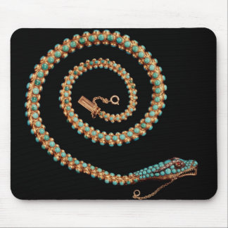 Snake necklace, 1844 mouse pad