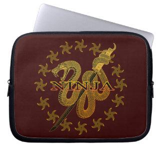 Snake Ninja 01 Laptop Computer Sleeve