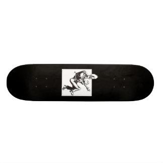 Snake off a Plane Skateboard Deck