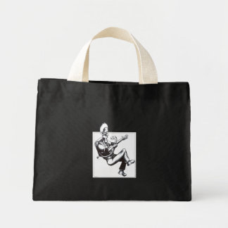 Snake off the Plane Mini Tote Bag