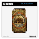 Snake Oil iPod Touch 4G Decal