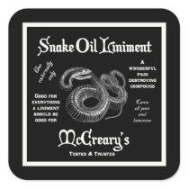 Snake Oil Liniment Sticker
