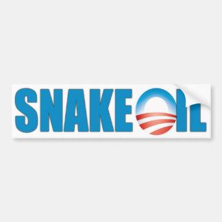 Snake Oil (Obama) Bumper Sticker