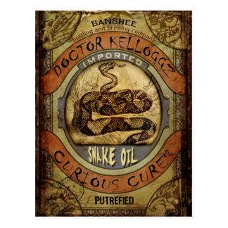 Snake Oil Post Cards