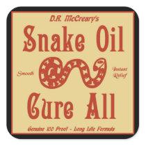 """""""Snake Oil"""" Sticker"""