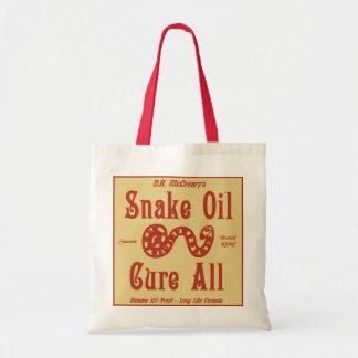 """""""Snake Oil"""" Tote Bag"""