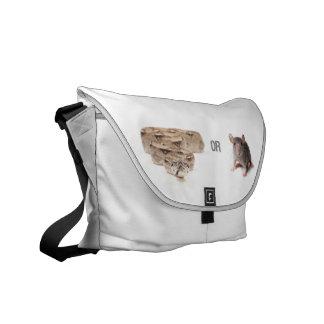 Snake or Mouse Messenger Bag