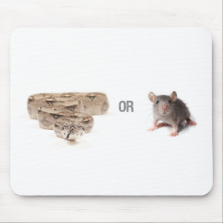 Snake or Mouse Mousepads