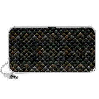 Snake Pattern Mp3 Speakers