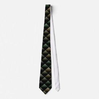 Snake Pattern Tie