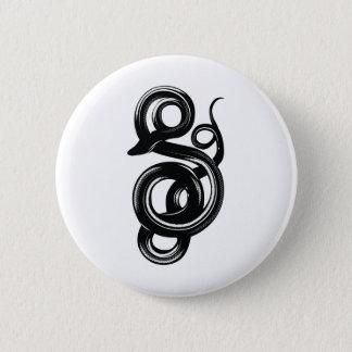 Snake Pinback Button