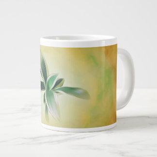 Snake Plant, blended hues mug. Large Coffee Mug