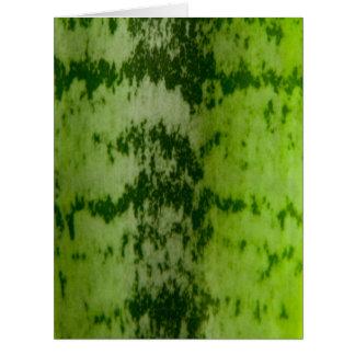 Snake plant leaf card