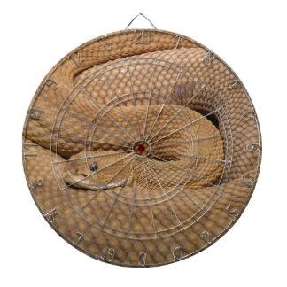 Snake Print Dart Boards