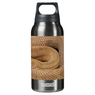 Snake Print Insulated Water Bottle