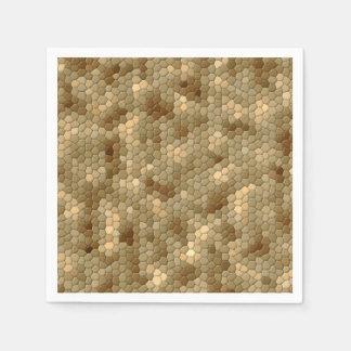 Snake Print Paper Napkin