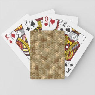 Snake Print Playing Cards