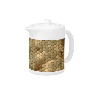 Snake Print Teapot