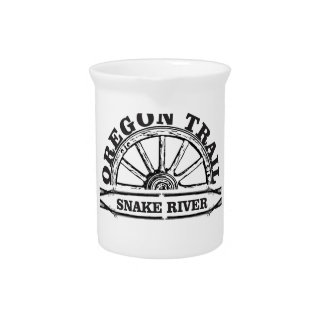 snake river arch guns beverage pitcher