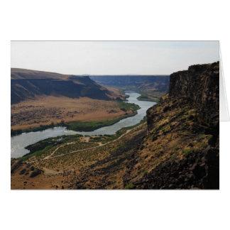 Snake River Canyon, Idaho Card