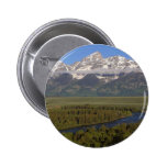 Snake River Grand Tetons 2 Inch Round Button