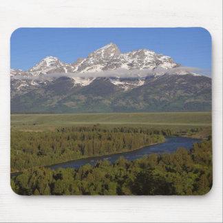 Snake River Grand Tetons Mouse Pad