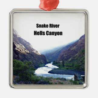 Snake RIver, Hells Canyon Christmas Tree Ornaments