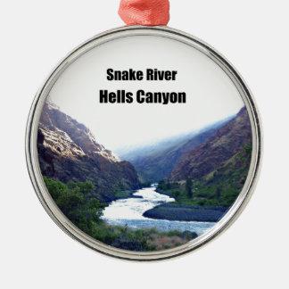 Snake RIver, Hells Canyon Christmas Tree Ornament