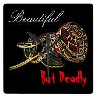Snake rose clock python