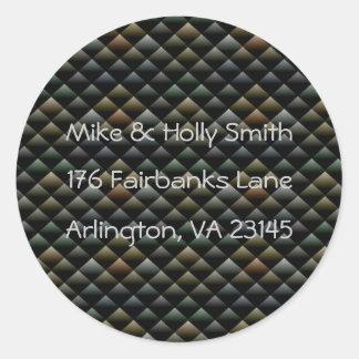 Snake scale Address Stickers