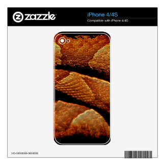 Snake Scale Serpent Scale Art Skin iPhone 4S Decals