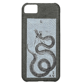 Snake/Serpent Sumi-e Case For iPhone 5C