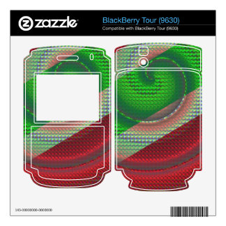 Snake Skin Skins For BlackBerry