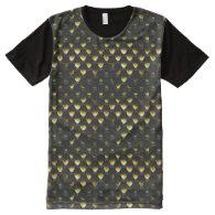 Snake Skin 1B All-Over Print T-shirt
