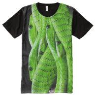 Snake Skin 2 All-Over Print T-shirt