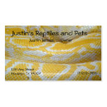 Snake Skin Business Card