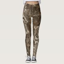 Snake Skin Camouflage Leggings