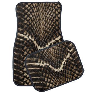 Snake Skin Car Mats