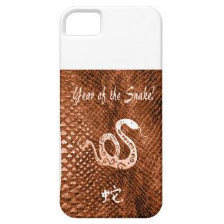 Snake Skin chinese new year orange iPhone 5 Cases