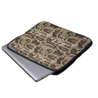 Snake-skin design an effortless dose of chic laptop computer sleeves