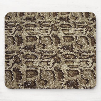 Snake-skin design an effortless dose of chic mouse pad