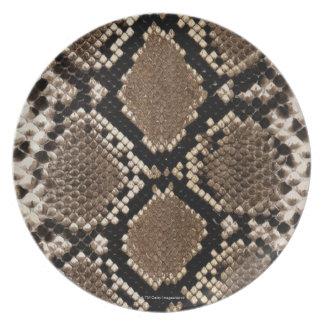 Snake Skin Dinner Plate