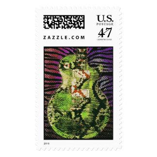 Snake Skin Guitar Stamps