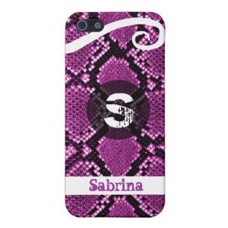 Snake skin imitation iPhone Case Case For iPhone 5