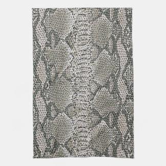 Snake Skin Kitchen Towel